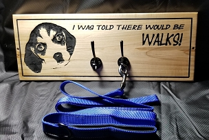 Told there would be Walks (2 to 3 Leash Holder)