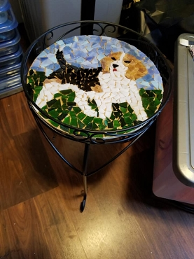Customer Order Beagle Accent Table