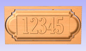 Basic Address Sign