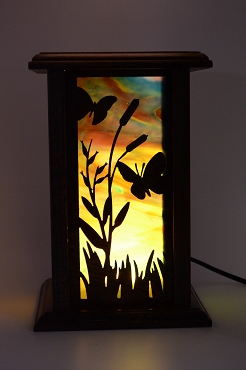 Butterfly & Hummingbird Lamp