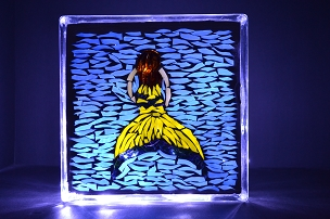 Custom Glass Mosaic Mermaid